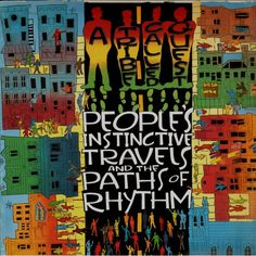 A Tribe Called Quest - People's Instinctive Travels and the Paths of Rhythm LP