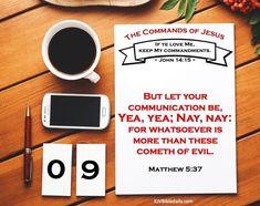 The Commands of Jesus