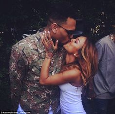 Last kiss? Karrueche has now deleted a number of pictures of herself and Chris from her In...