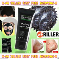 A pore-minimising black face mask with deep pore cleansing and face cleaning properties. Shills black head remover assists the systematic removal of whiteheads and blackheads. It cleans the skin leaving it soft and supple giving you a youthful glow. #toreadmore http://www.friller.com.au/face-mask-shills-nose-blackhead-acne-pore-deep-rem