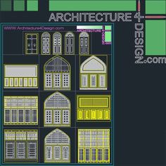 Autocad Collection Of Islamic Decoration Pieces اسلامي