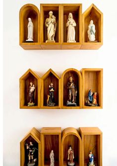 or make little mini churches to house each one in a different style
