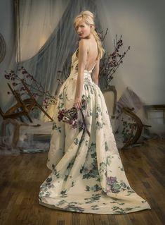 Elizabeth Filmore's Elegant and Sophisticated Spring 2016 Bridal Collection