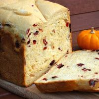 Pão de Laranja e Cranberry - Máquina de Pão