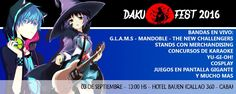 Daku-Fest 2016 - Buenos Aires, Argentina, 3 de Septiembre 2016 ~ Kagi Nippon He ~ Anime Nippon-Jin