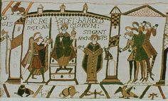 The Bayeux Tapestry Normandy - seeing it in the museum is an awesome sight, pictures can never do this magnificent piece of art justice.