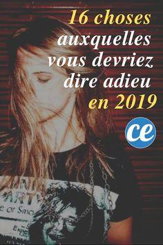 Liste de 16 bonnes résolutions pour la nouvelle année 2019 Vie Positive, Good Vibes Only, Motivation, Education, Happy, Pin, Bullet Journal, Healthy, Feel Better