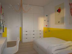 Projekt Wnętrza Pokoju Dziecięcego   Architekt Wnętrz Kraków   MOTIFO