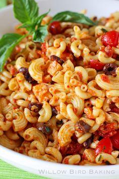 The Best Macaroni Salad Ever & Sundried Tomato Pasta Salad