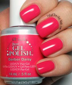 IBD Gerber Daisy, IBD Just Gel Nail Polish Color