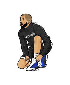 Preparing for Views..  29  @champagnepapi #Drake #Graphics #OVO  V I E W S