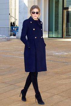 Olivia Palermo At New York Fashion Week: Dennis Basso Olivia Palermo Outfit, Estilo Olivia Palermo, Olivia Palermo Lookbook, Olivia Palermo Style, Preppy Outfits, Winter Fashion Outfits, Look Fashion, Chic Outfits, Trendy Fashion