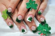 Bloglovin.... Hot pink nails with zebra designs