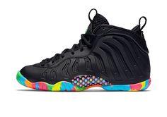 "Nike Lil Posite one ""Black Fruity Pebbles"""