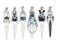 ink fashion sketch - Google Search