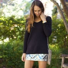 Cozy sweaters & sparkly skirs —the holidays are here!
