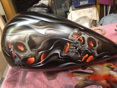 Airbrush themes and ideas for the Bagger