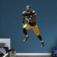 cd59f12667f ... Fathead NFL Pittsburgh Steelers Lawrence Timmons Wall Decal - 12-21516  Nike ...