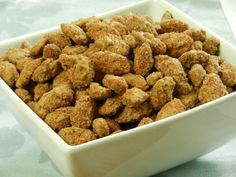Flavor Packed Vanilla-Cinnamon Roasted Almonds Recipe!   The real thing, and easier than you think!