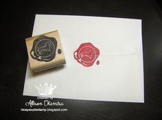 Dachshund Wax Seal Hand Carved Stamp by Allison Okamitsu