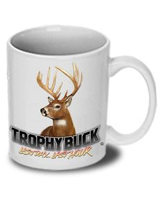 Follow the Action® Whitetail Deer Trophy Buck T-Shirt and Koozie Combo Gift Set