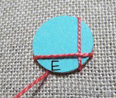 Shisha Stitch tutorial