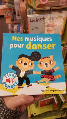 Livre sonore - mes musiques pour danser - Gallimard Jeunesse - envrion 10€
