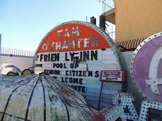 The Neon Boneyard, Las Vegas, Tam O'Shanter