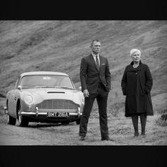 #danielcraig #jamesbond #007 #skyfall #scotland #astonmartin #db5 #classiccar…