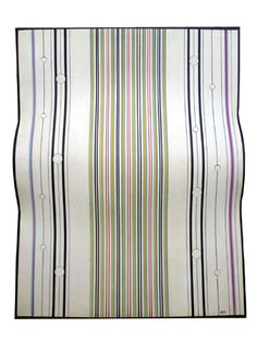 Galleria Marelia - Arden Quin Carmelo, Forme galbée, H n° 54, 1971, tecnica mista su cartone curvato, cm 62x49