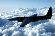 In the early days of the Cold War, the U-2 spy plane helped the U.S. collect intelligence on Soviet military operations. On May 1, 1960, pilot Francis Gary Powers crashed one in the Soviet Union. The U-2 flew at more than 70,000 feet, an altitude that was thought to be beyond the reach of fighter planes and missiles. Glider-like wings help the U-2 soar in thin air while its efficient jet engine helps it take off like a rocket and stay aloft for long surveillance flights at the edge of space.