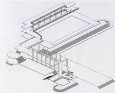Casa delle Armi   Schematizzazione sistema distributivo, percorsi