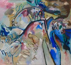 Wassily Kandinsky - Improvisation 21A, 1911 at Lenbachhaus Art Gallery Munich Germany