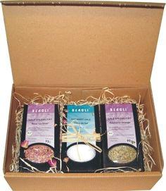 #Geschenkidee #Geschenkbox Gourmetsalz für Genieser http://www.natur-laedle.com/geniessen-und-wohlfuehlen/kristallsalz-und-ursteinsalz/511/gourmet-salz-geschenkbox
