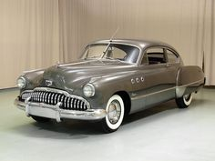While the more practical sedan was the most popular the distinctive, streamlined fastback silhouette of the Sedanette was easily the most attractive as is easily seen in this comprehensively restored example Chevrolet Corvette, Chevy, Buick Roadmaster, Buick Cars, American Classic Cars, Us Cars, Race Cars, Unique Cars, General Motors