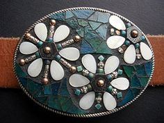 mosaic belt buckle how to - Google Search