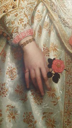 A delightful floral detail