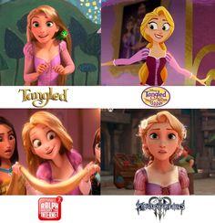 Rapunzel in three new styles! Only available till…till the Tangled franchise lives – For Women Disney Pixar, Disney Rapunzel, Disney Marvel, Disney Animation, Original Disney Princesses, Disney Jokes, Funny Disney Memes, Disney Cartoons, Disney Magic