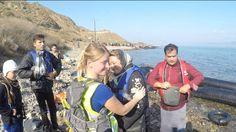 Lesvos, Greece. 20 boats with refugees arrive within 20 minutes in Sykamia beach. September 2015