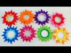 Origami Mandala Sufrágio - YouTube
