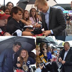 The fans were out in full force for the Penguins arrival in #HockeyvilleUSA