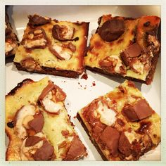 Cheesecake-Snickers-Brownies