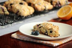 These Lemon Blueberry #Scones are perfect for sharing with family and friends.