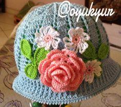 Sombrero para niña