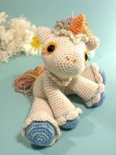 Hermione the unicorn free raverly pattern. So pretty.