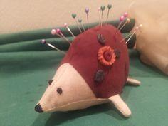 Hedgehog pincushion Pin Cushions, Hedgehog, Coin Purse, Purses, Handbags, Hedgehogs, Purse, Bags, Coin Purses
