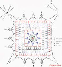 ergahandmade: Long Crochet Vest + Diagram