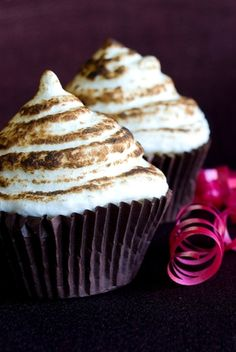 Vegan S'mores Cupcakes | Vegan CupCake Recipes #vegan #cupcake #recipe