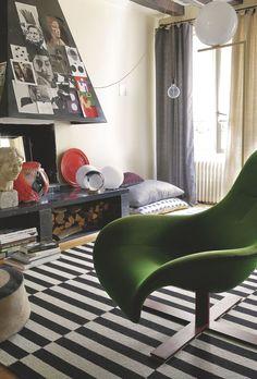 maison de rêve à Bordeaux et appartement déco à Paris - Côté Maison Room Interior, Interior Design, Interior Ideas, Grands Salons, Bordeaux, Ikea, Paris, Sweet Home, Couch