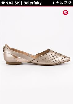 Štýlové zlaté baleríny VINCEZA Tommy Hilfiger, Platform, Adidas, Flats, Shoes, Fashion, Flat Shoes Outfit, Shoes Outlet, Fashion Styles